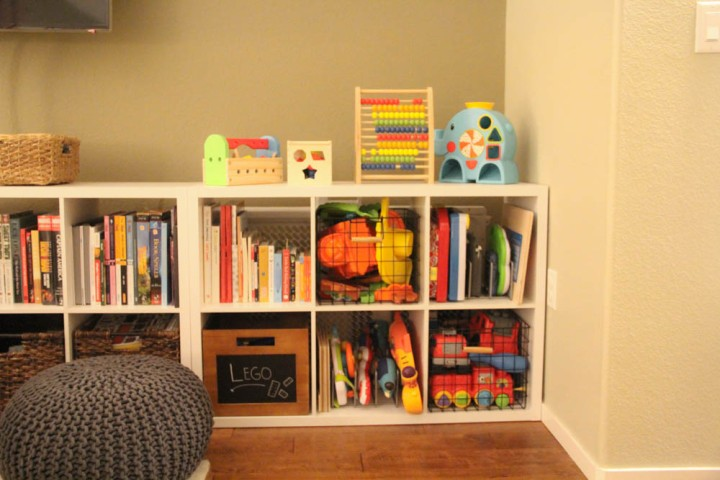3 Steps to Creating a Play area when Space is Limited